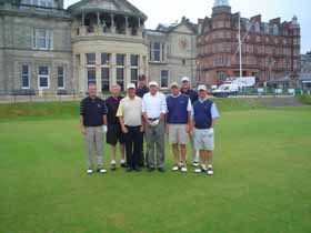 Matt Weis - st andrews golf trip