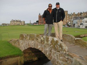 Sanji Powell - St Andrews Old Course
