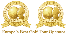 World Golf Awards Winners Golf Vacations UK