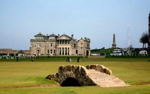 St Andrews Old Course - Swilcan Bridge
