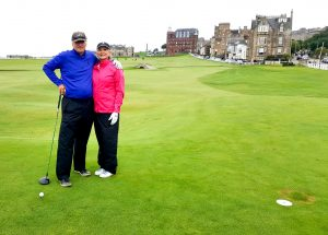 Old course St Andrews - Slosson